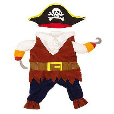 Pirate Pet Costume for Cats and Dogs