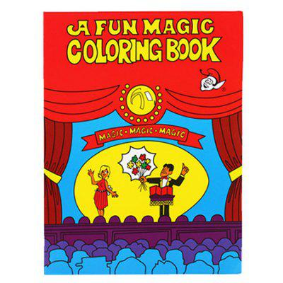 Kids Funny Comedy Magic Coloring Book Toy Prop Gift