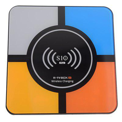 R-TV BOX S10 PLUS TV Box with Wireless Charging Voice Search Image