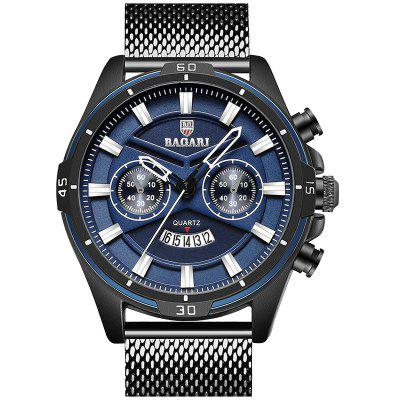 BAGARI 1805 Business Classic Waterproof Quartz Watch