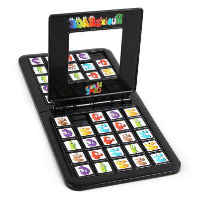 Intelligentie Puzzel Kleur Nummer Magic Cube Game Battle Set