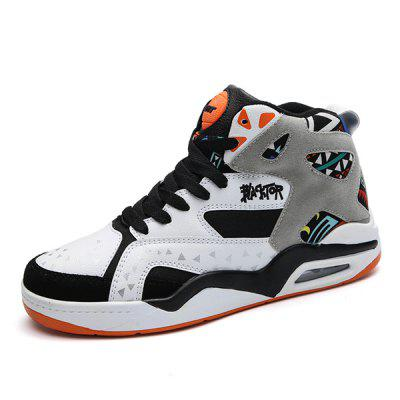Men's High-top Plus Size Basketball Sneakers