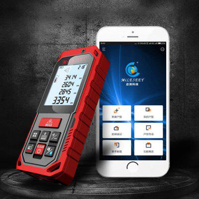 MileSeey Portable High-precision Laser Ruler Range Finder Electronic Measuring Instrument