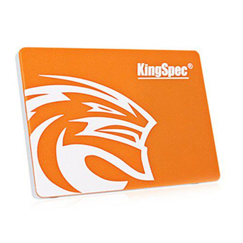 kingSpec P3 128GB 2.5 inch SATA 3.0 Solid State Drive SSD - MANGO ORANGE
