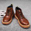 Casual Fashion PU Martin Boots voor Heren - BRUIN