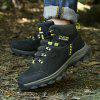 Matte Leather Outdoor Hiking Shoes for Man - ARMY GREEN
