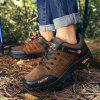 Outdoor Lace Up Men Sports Hiking Shoes - BROWN