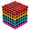 5mm Magnetic Buck Ball Stress Relief Fidget Toy Gift 216pcs - MULTI-A