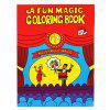 Kids Funny Comedy Magic Coloring Book Toy Prop Gift - CZERWONY