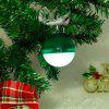 Colorful LED Christmas Ball Bluetooth Speaker - RED