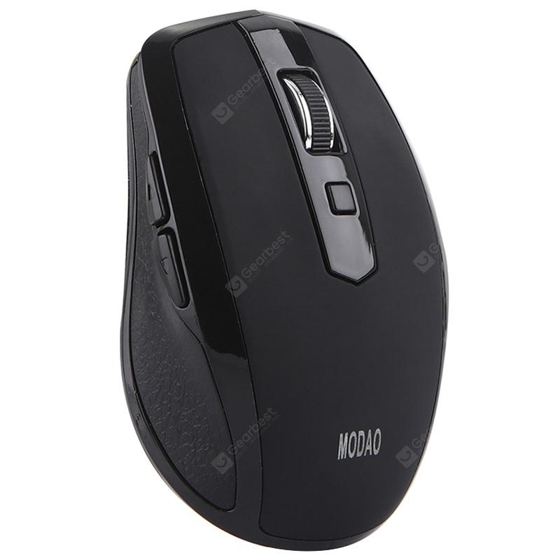 MODAO E27 2.4GHz Wireless Mouse with Type-C Receiver - BLACK