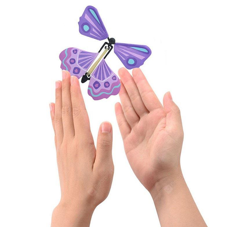 Creative Magic Flying Butterfly Funny Toy 1pc - MULTI-A