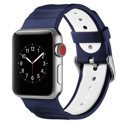 Creative Silicone Strap for Apple Watch 1 / 2 / 3 38mm