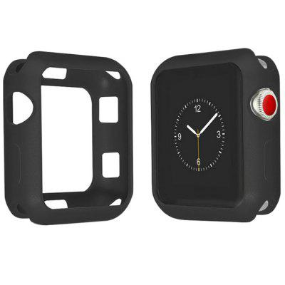 TPU Transparent Shell Protective Cover for Apple Watch 42mm Series 1 / 2 / 3