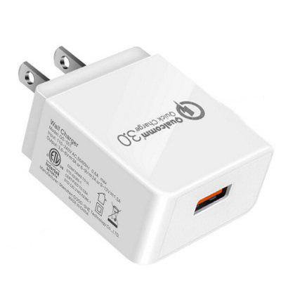 QC3.0 USB-snellader Power Adapter met US-stekker