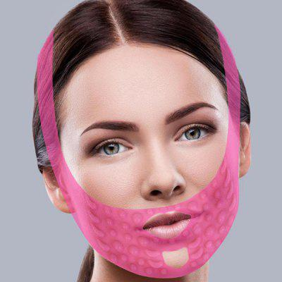 Atadura de levantamento da máscara da massagem de cara do silicone que endurece a atadura da V-face do emagrecimento