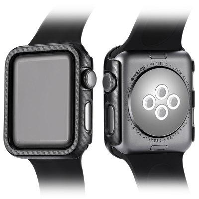 Carbon Fiber Watchcase for 38mm Dial Apple Watch Series