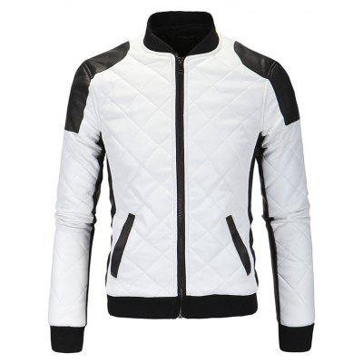 Male Trendy Stand Collar Leisure Jacket