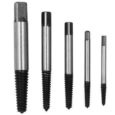 Alloy Steel Screw Extractor Tool 5PCS