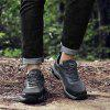 Men Outdoor Shock-absorbing Crash Toe Hiking Shoes - GRAY