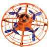 UFO Induction Four-axis Aircraft Infrared Sensing Toy - HALLOWEEN ORANGE