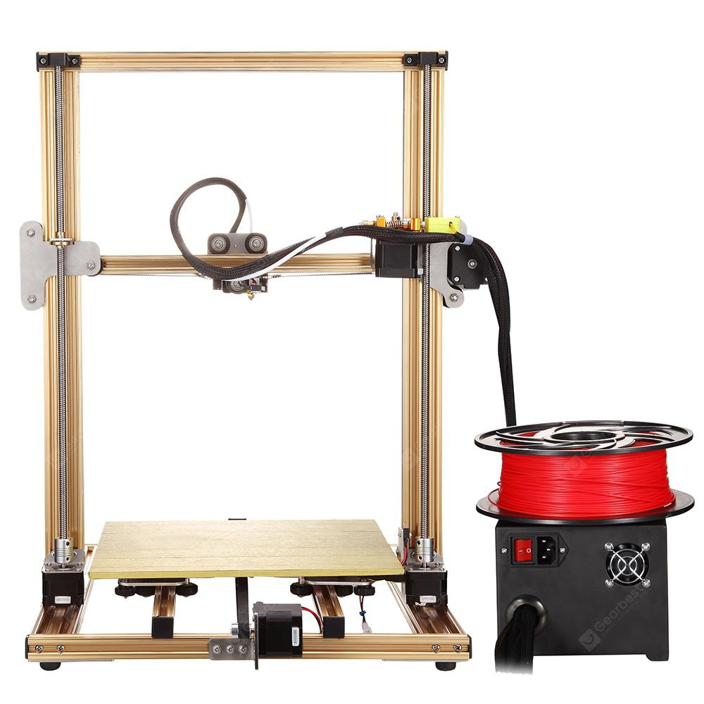 RAISCUBE T8 / T9 hurtig montering aluminium-legeret 3D printer