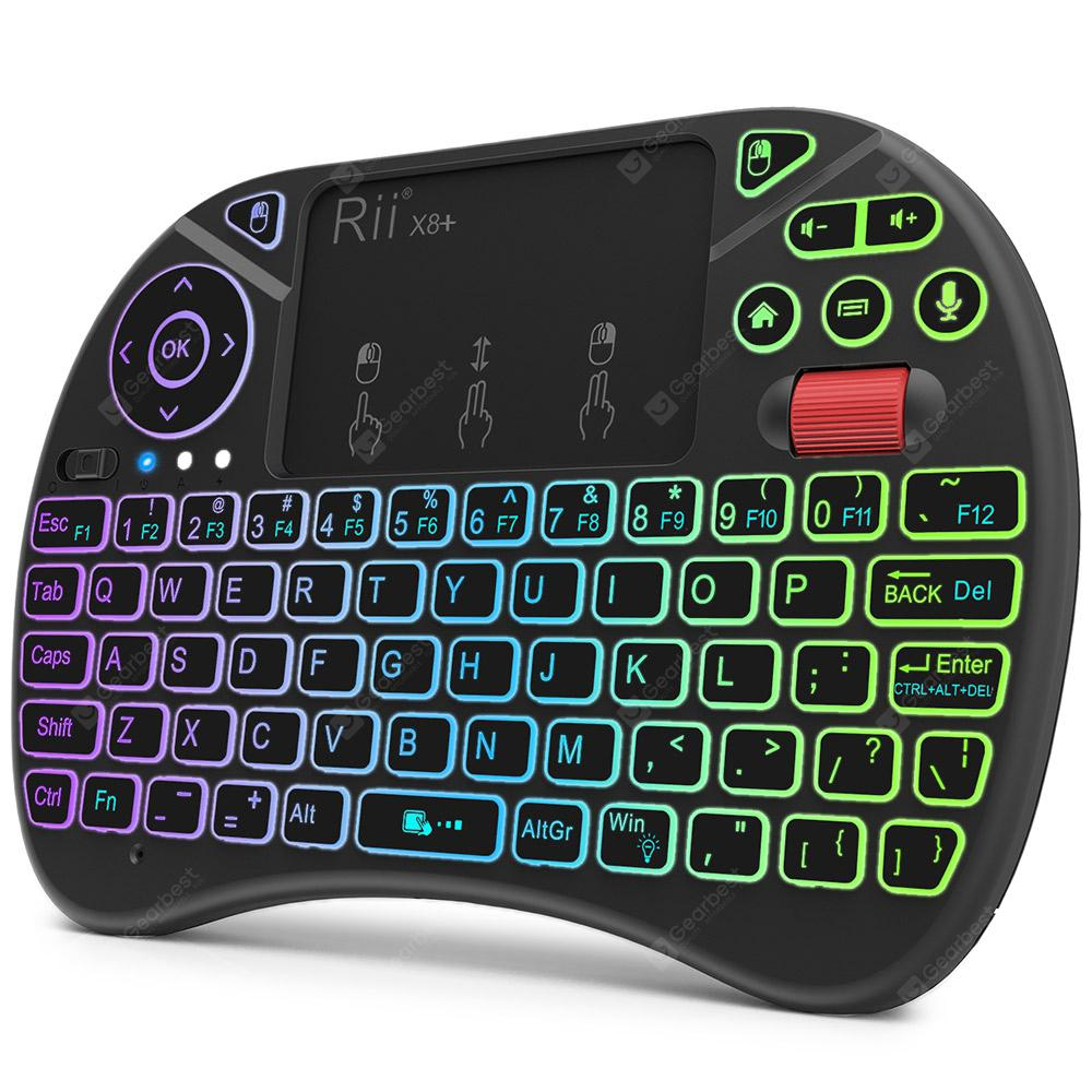 Rii X8 Plus 2.4GHz Wireless Air Mouse Keyboard with Touchpad