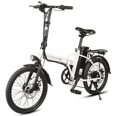 Samebike JG - 20 Smart Folding Bike Moped Elektronický bicykel E-bike