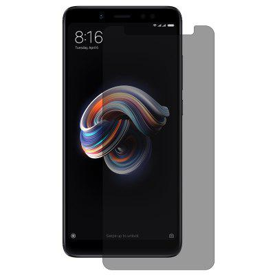 Hat - Prince 0.26mm 9H 2.5D Proteggi schermo in vetro temperato a prova di peep per Xiaomi Redmi Note 5 Pro Global Version