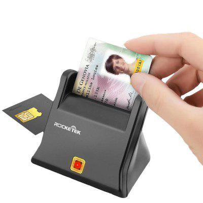 Rocketek SIM / ID Smart Card Reader ISO 7816 EMV2 2000