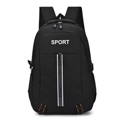 Male Trendy Waterproof Soft Ventilate Backpack
