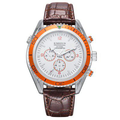 KIMSDUN K - 814D Waterproof Male Automatic Mechanical Watch
