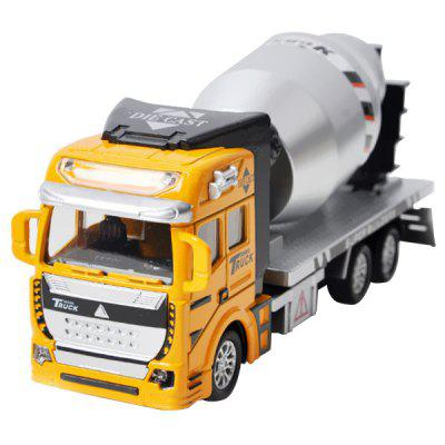 1:48 Pullback Alloy Concrete Truck Model Toy