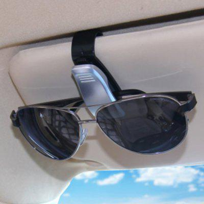 Portable Sunglasses / Ticket Card Holder Clip for Car 1pc