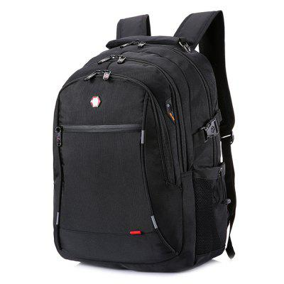 Large Capacity Unisex Polyester Backpack