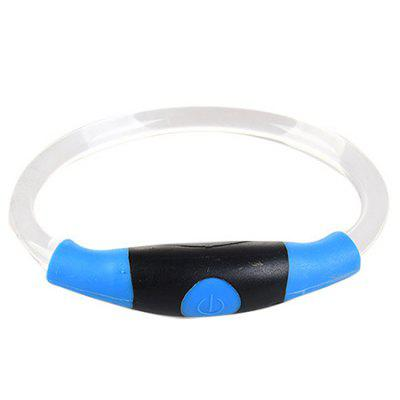 Elegante LED collar de mascota flash