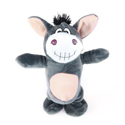 Smart Burro Stuffed Toy Singing Talking Walking Recording for Kids
