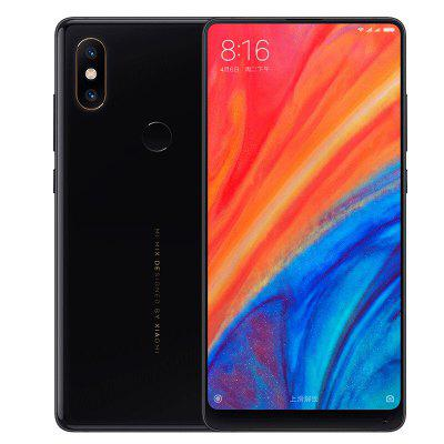 Gearbest Xiaomi MI MIX 2S 4G Phablet Global Version - BLACK 6+64GB 6GB RAM 64GB ROM Dual Rear Cameras Bluetooth 5.0 Fingerprint Recognition Wireless Charging