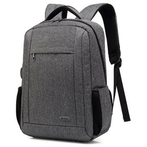 250cd13b76ae4b POSO Water-resistant Large Capacity Backpack with USB Port