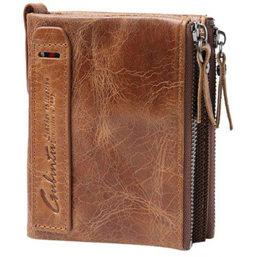 Gubintu 406 Classic Leather Wallet for Men