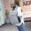 Meiletoo Leisure Business Anti-theft Backpack with USB Port - BLACK