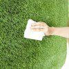 17PIN Lawn Shape Blanket from Xiaomi youpin - CLOVER GREEN