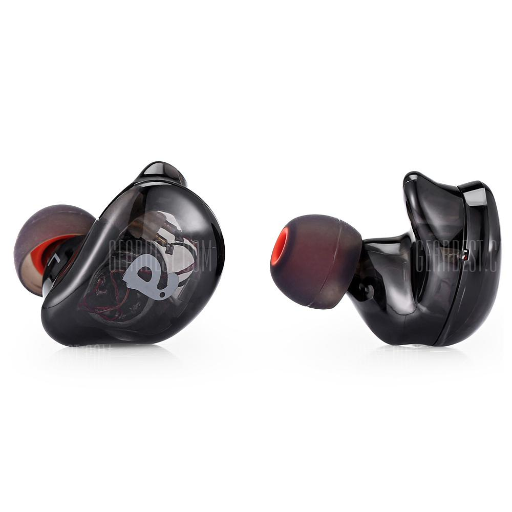Alfawise V10 HiFi In-Ear Stereo 8 pogoni hibridne slušalice - BLACK HEADPHONE