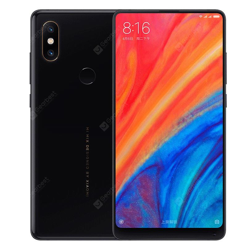 Xiaomi MI MIX 2S 4G Phablet Global Version - BLACK 6+64GB  (entrepôt EU)
