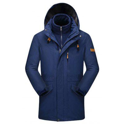 Men Trendy Breathable Waterproof Hooded Sports Jacket