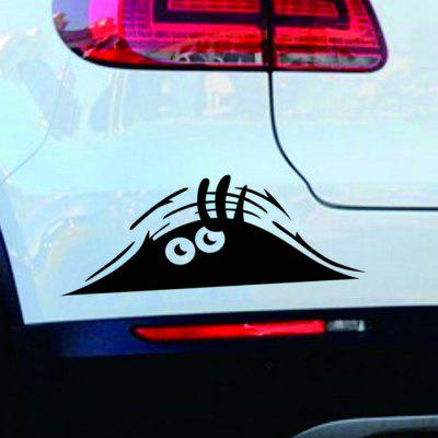 Car Window Body Eyes Sticker 1pc