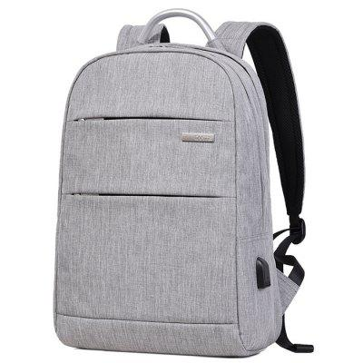 Business Water-resistant Laptop Backpack with USB Port
