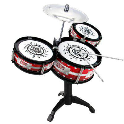 Trendy Kids Drum Set Musical Instrument
