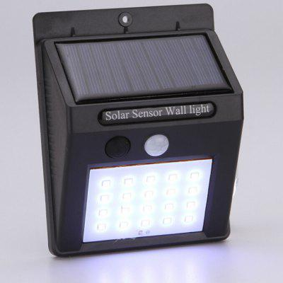 Professional Outdoor Automatic Sensing Solar Wall Lamp