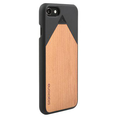 Wood PC Phone Back Case Protector for iPhone 8